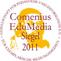 Das Siegel des Comenius EduMedia 2011 für den Kurs